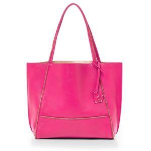 Botkier Soho Tote Beet Pink Shoulder Crossbody Bag
